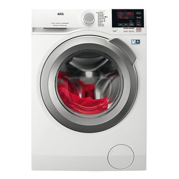 Compare cheap offers & prices of AEG L6FBG142R Freestanding Washing Machine with 10KG Load Capacity and Energy Rating in White manufactured by AEG