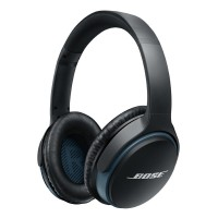 BOS-S-LINK-AE-BL SoundLink Bluetooth Wireless Around Ear Headphones in Black