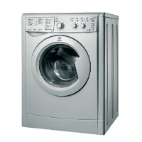 Indesit Ecotime IWDC 6125 S Washer Dryer - Silver