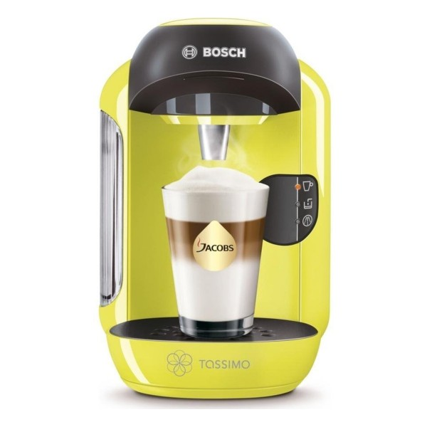 Compare cheap offers & prices of Bosch TAS1256GB Vivy II Tassimo Hot Drinks Machine with 0.7L Capacity in Lime Green manufactured by Bosch