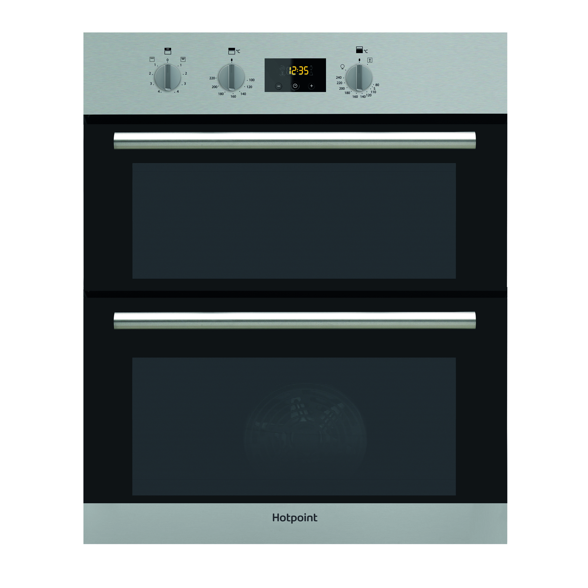 Hotpoint Du2 540 Ix 597mm Electric Built In Double Oven