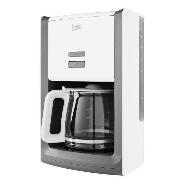 Compare cheap offers & prices of Beko CFM6151 Filter Ground Coffee Machine with Variable Coffee Strength in White manufactured by Beko