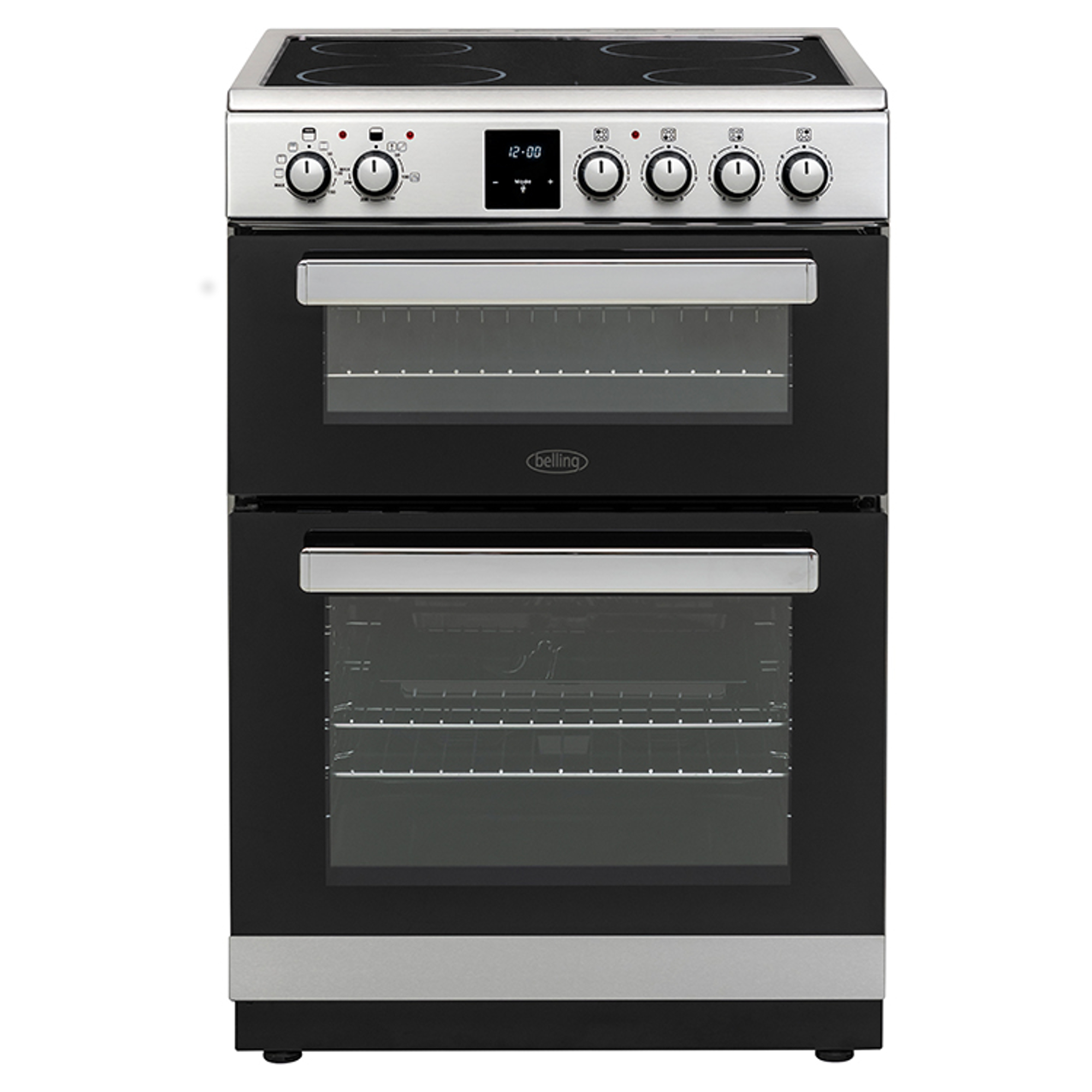 Belling Fse608dpc Electric Cooker With Ceramic Hob Hughes