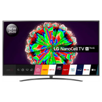 LG 75NANO796NF 75 inch 4K UHD HDR Smart NanoCell TV - Black colour (2020 Model) [Energy Class A]