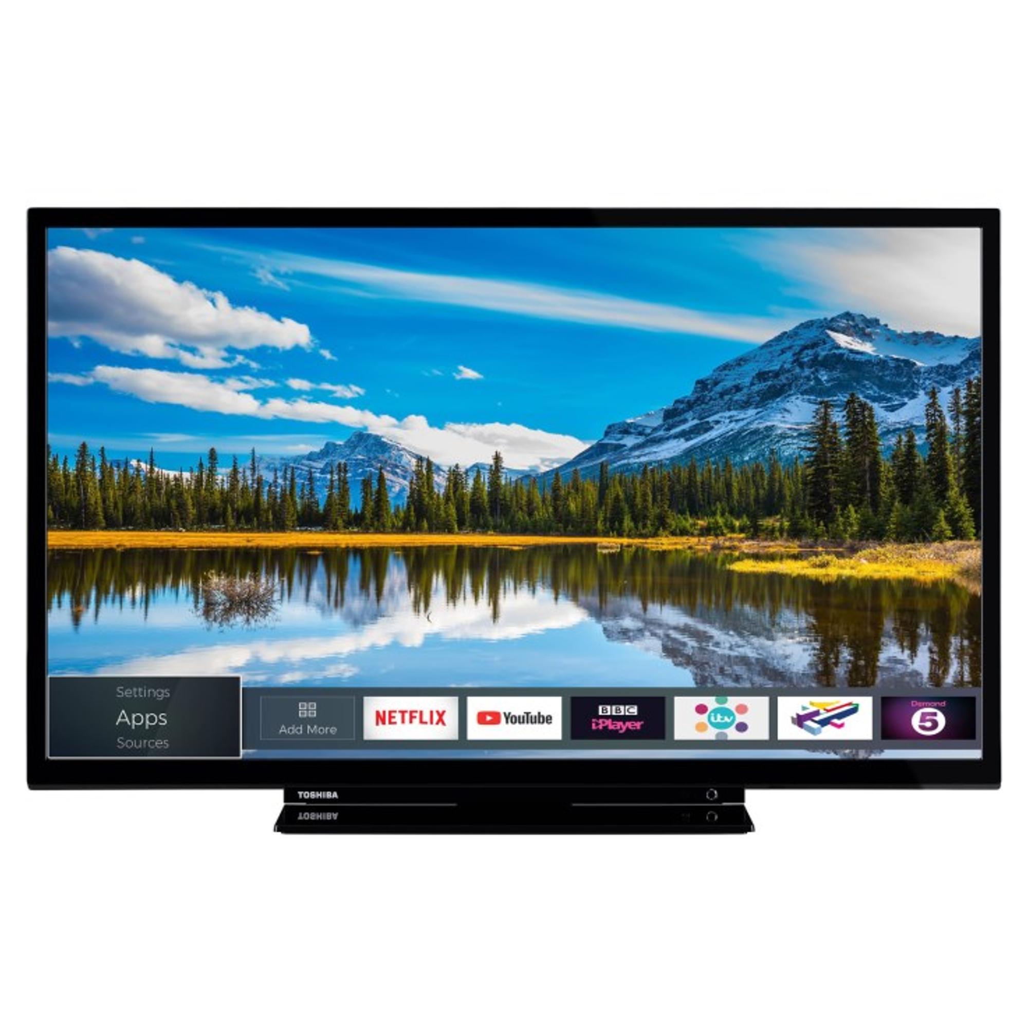 toshiba 32w2863db 32 hd ready led smart tv hughes rh hughes co uk