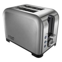 Russell Hobbs 22390 2-Slice Polished-Steel Toaster