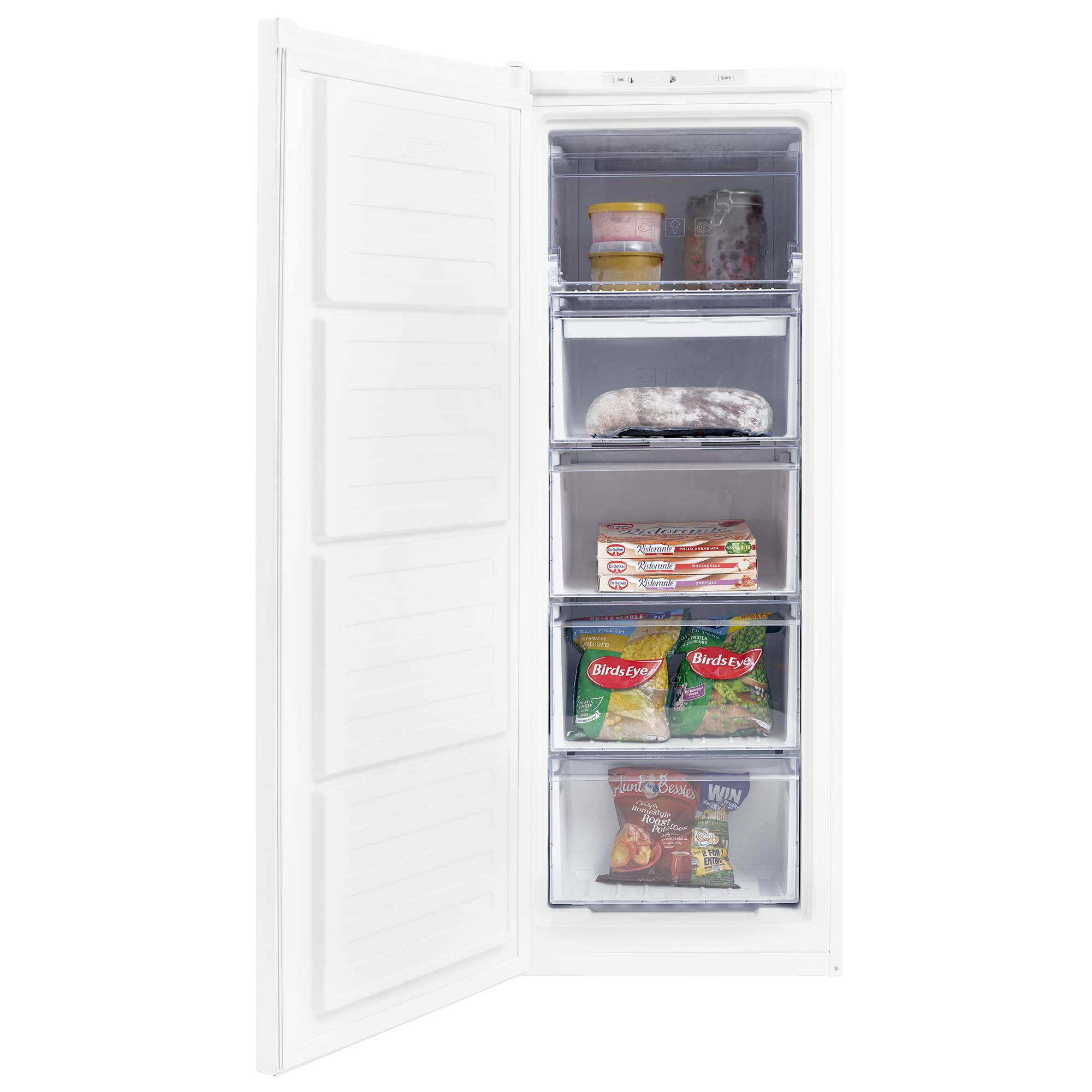 Beko FFG1545W Frost Free Upright Freezer