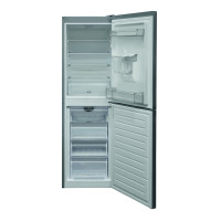 HBNF 55181 S AQUA UK 50/50 Split Frost Free Fridge Freezer with Water Dispenser - Silver