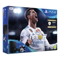Sony PS4 Slim 500GB Hard Drive with 1 Controller and FIFA18