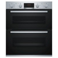 NBS533BS0B Built-In Double Oven 81L Capacity