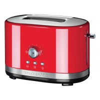 KitchenAid Empire red 2-Slot Manual Control Toaster 5KMT2116BER Best Price and Cheapest