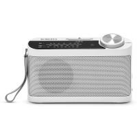 ROBERTS Classic 993 Portable FM/AM Radio - White, White