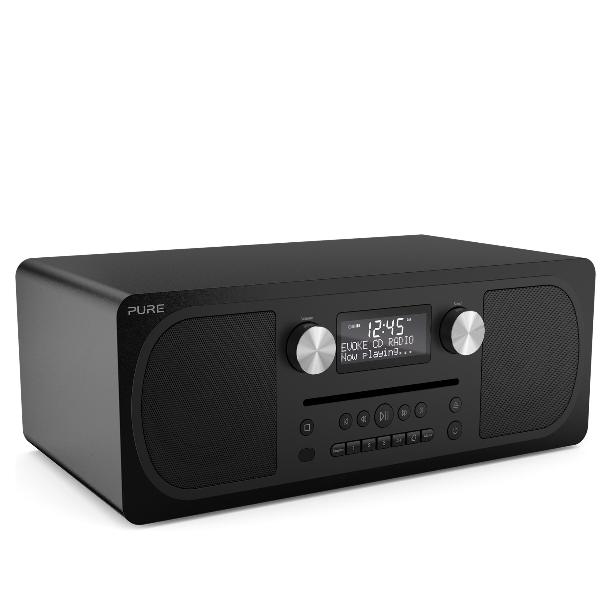 Pure Evoke C D6 Dab Bluetooth Radio With Cd Player Hughes