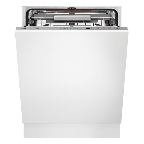 Compare prices for AEG FSS62800P Full size Silver Built-in Integrated Dishwasher with 13 Place Settings