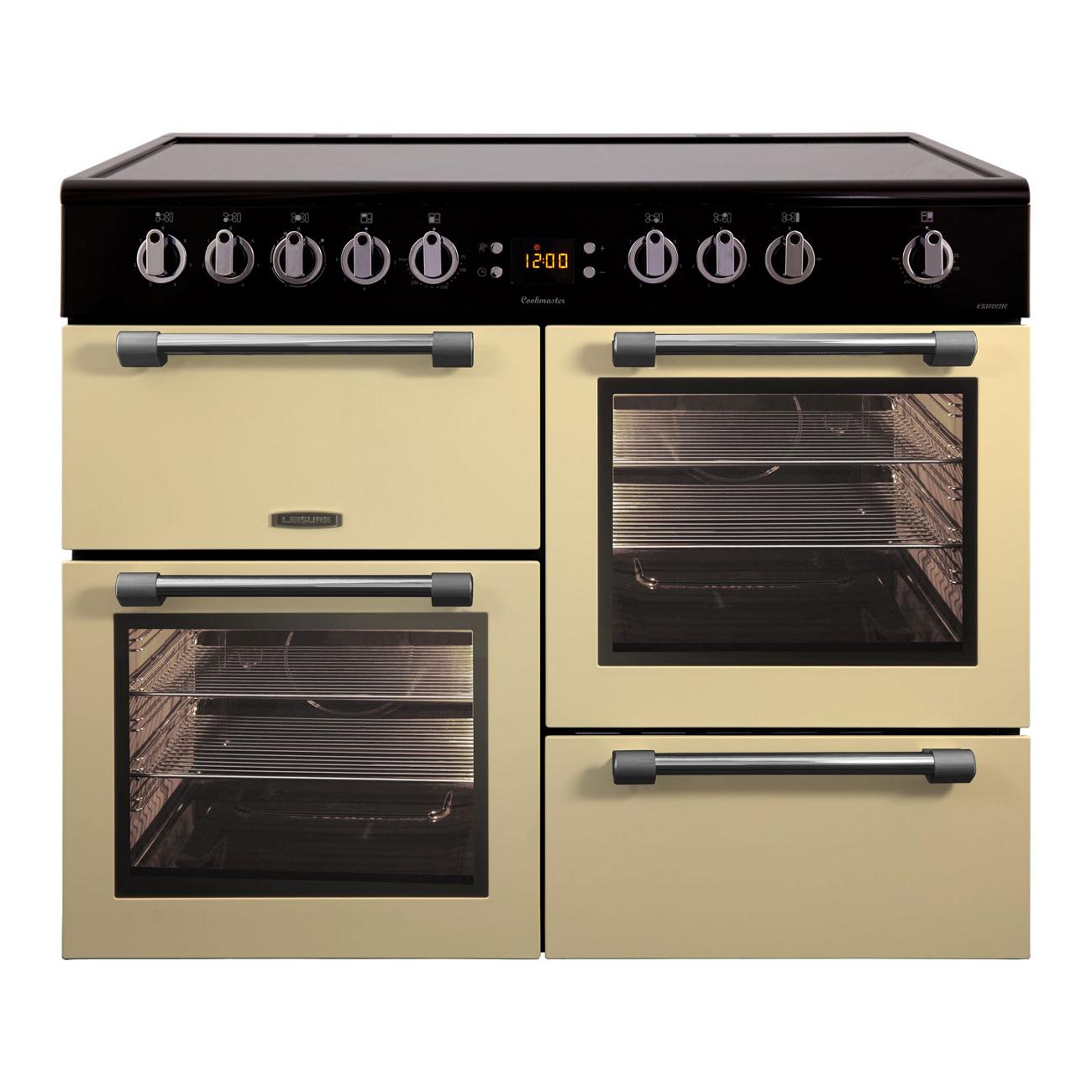 Leisure Ck100c210c Electric Double Oven Range Cooker