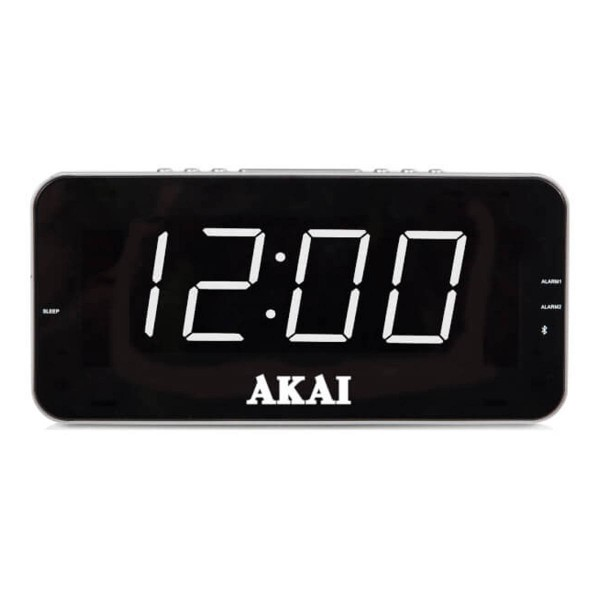 Compare cheap offers & prices of AKAI A61019 AM/FM Jumbo Alarm Clock Radio with Easy to Read 1.8 Inch LED Display manufactured by Akai