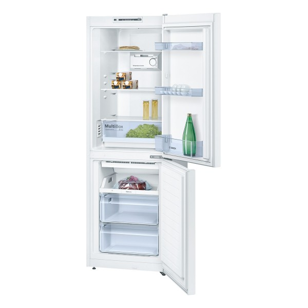 Compare cheap offers & prices of Bosch KGN33NW20G Fridge Freezer with 279L Capacity and Energy Rating in White manufactured by Bosch