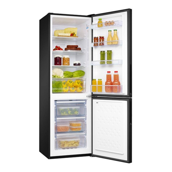 Compare cheap offers & prices of AMICA FK321-6GBDF Fridge Freezer with 301L Capacity and Energy Rating in Black manufactured by Amica