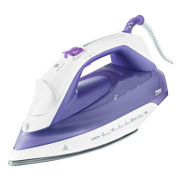 Compare cheap offers & prices of Beko SPA7131P Hybrid Steam Iron with 3100W and Ceramic Soleplate in purple manufactured by Beko