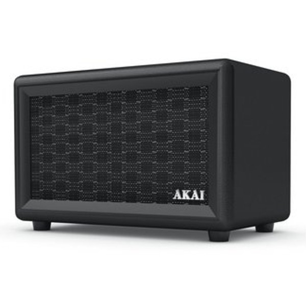 Compare cheap offers & prices of AKAI A58052 Retro Bluetooth Speaker with 5 Hour Run Time and Rechargeable Batteries in Black manufactured by Akai