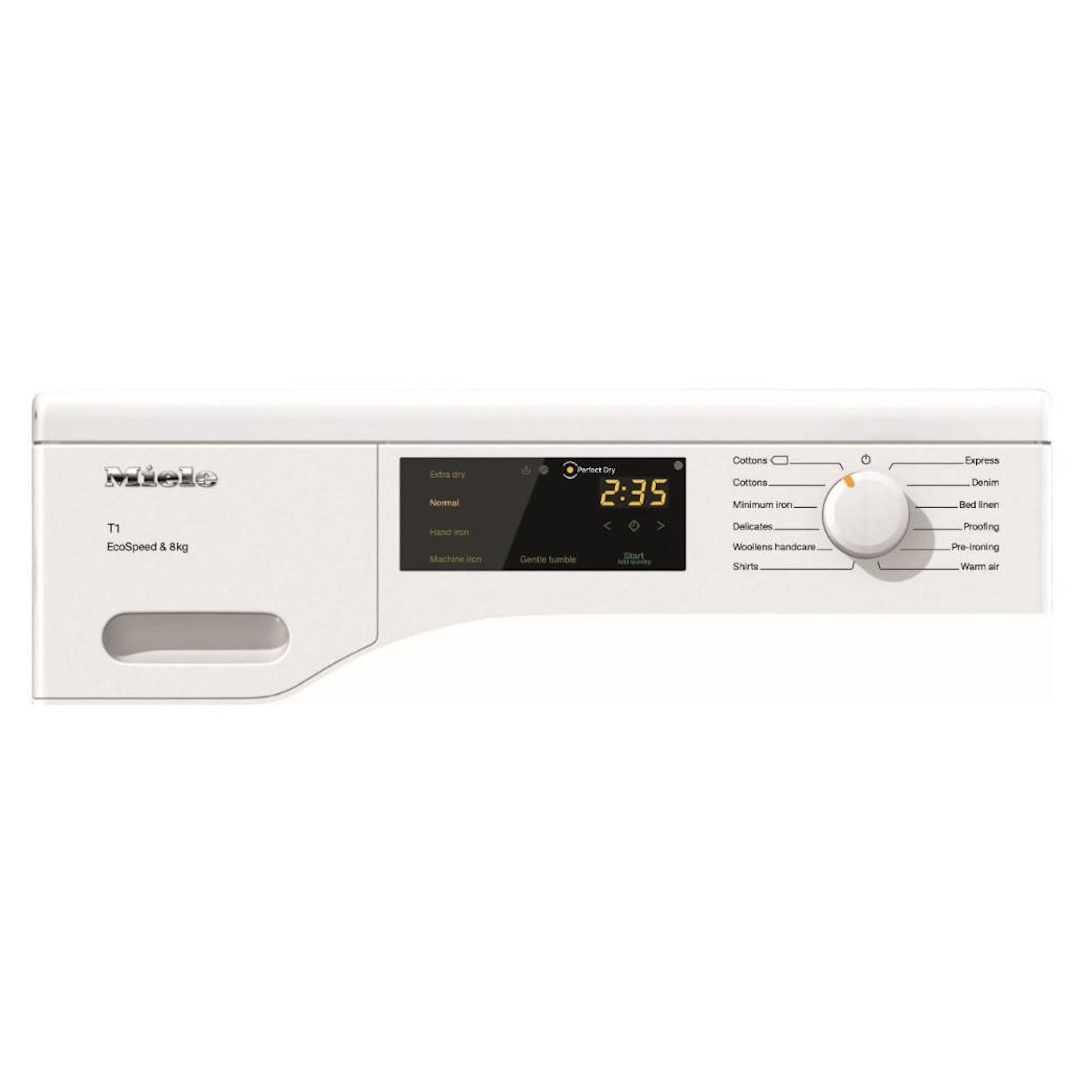 Miele TCB140WP 7kg Heat Pump Dryer with LED Lighting