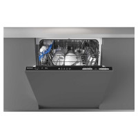 CRIN1L380PB Fully Integrated Dishwasher in Black