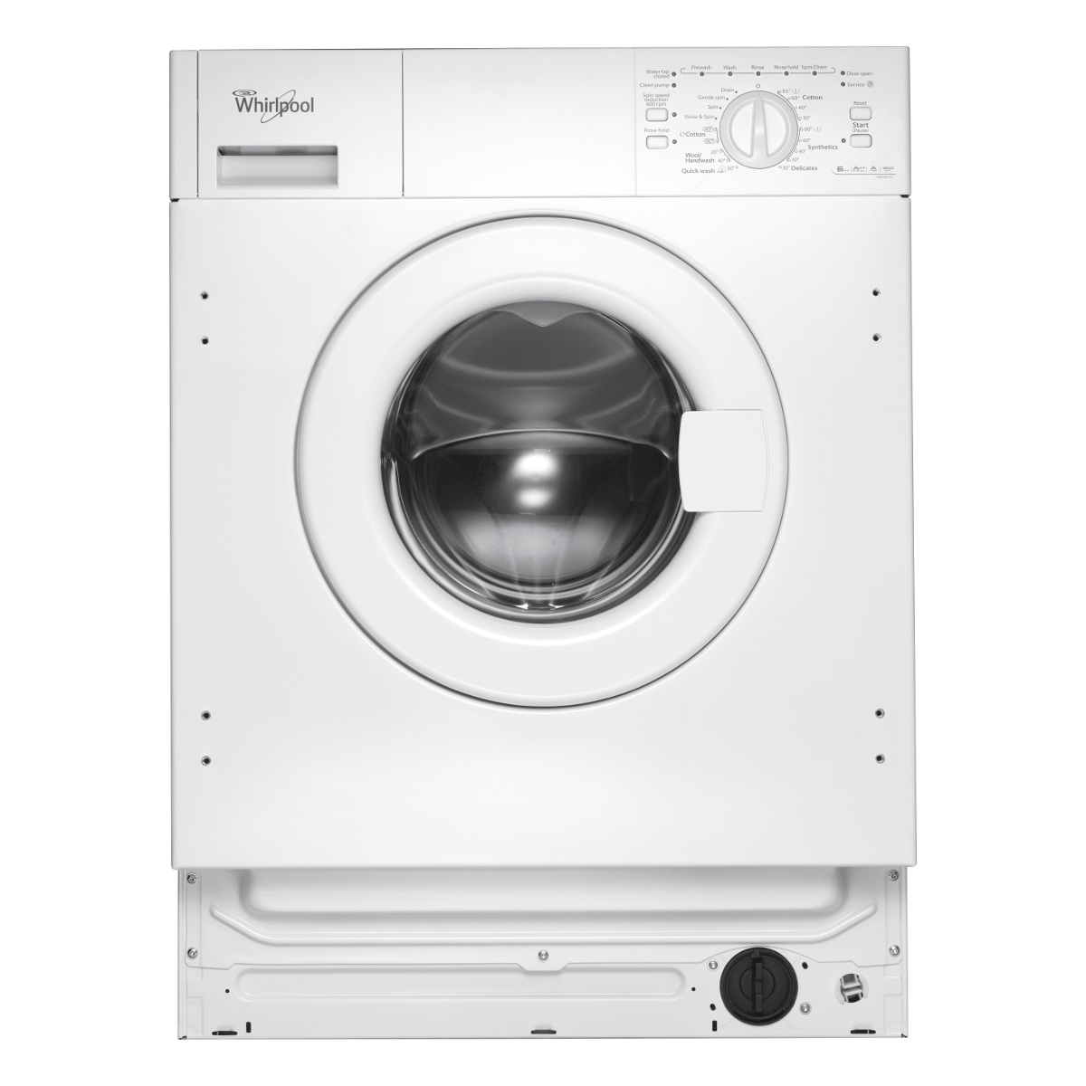 Whirlpool Awoa 6122 Built In Washing Machine 6kg Load