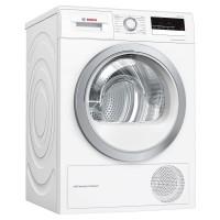 Image of BOSCH Serie 4 WTW85231GB 8 kg Heat Pump Tumble Dryer - White, White