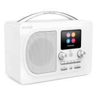EVOKE-H4-PRES-WH Evoke Prestige Edition Bluetooth Radio with DAB/DAB+ and FM Tuners in White