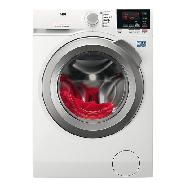 Compare retail prices of AEG L6FBG842R Freestanding Washing Machine with 8Kg Load Capacity and 1400RPM Spin Speed to get the best deal online