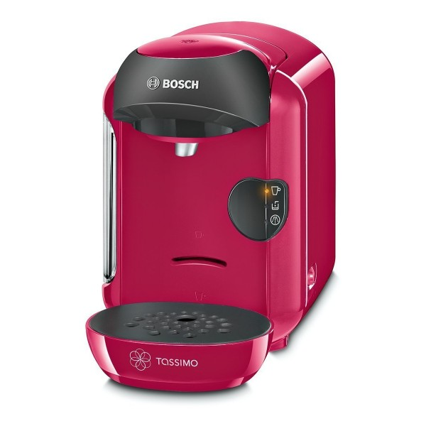Compare cheap offers & prices of Bosch TAS1251GB Vivy II Tassimo Hot Drinks Machine with 0.7L Capacity in Pink manufactured by Bosch