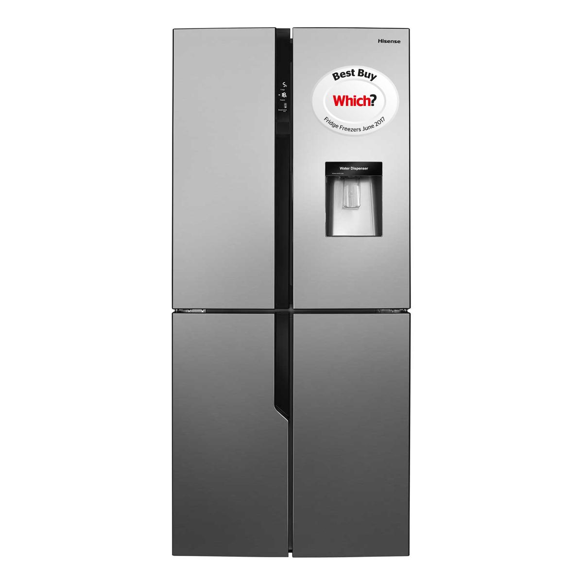 Hisense Rq560n4wc1 American Fridge Freezer Hughes