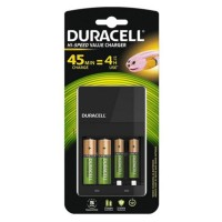CEF14 4 Hour AA & AAA Battery Charger with 2 x AA Rechargeable Batteries