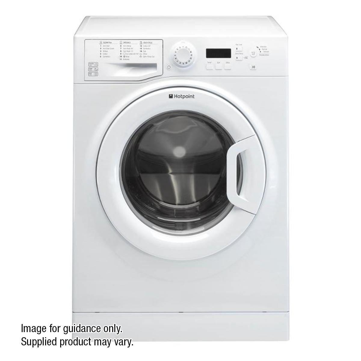 REFURBISHED Washing Machine with 1400rpm Spin Speed