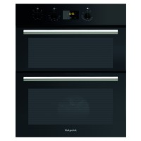 Hotpoint DU2540 Class 2 Built-Under Electric Double Oven, B/B Energy Rating, Stainless Steel