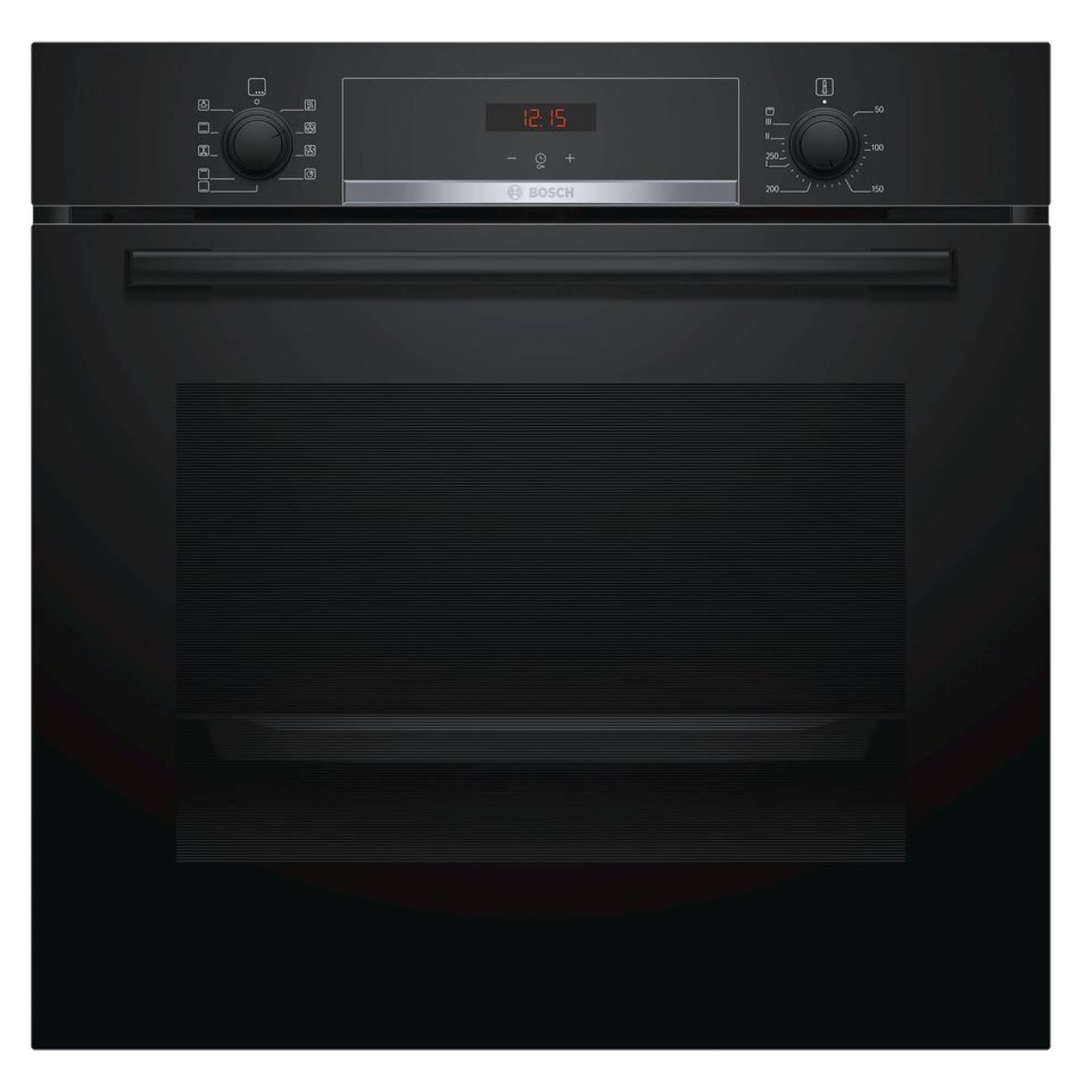 Bosch Hbs534bb0b 594mm Electric 71l Single Oven Black
