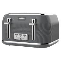 Image of Breville Flow 4 Slice Toaster - Slate Grey