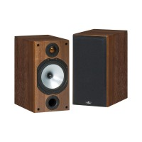 MR2-WALNUT Hi-Fi Bookshelf Speakers with 100W in Walnut