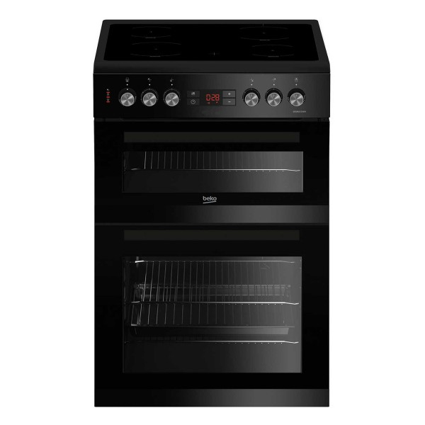 Cheapest price of Beko KDC653K 600mm Electric Double Oven with 105L Capacity in Black in new is £339.00