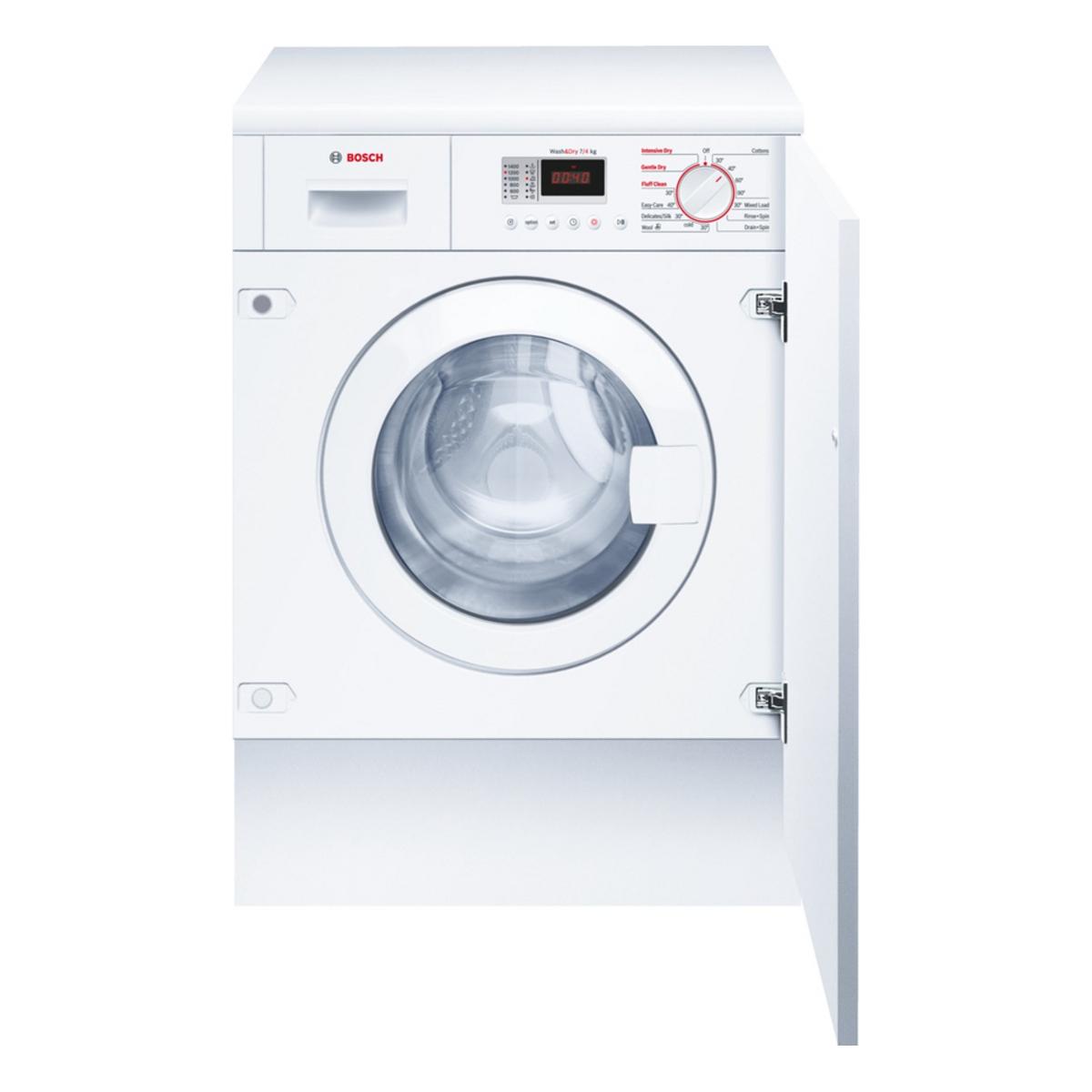 Bosch Wkd28351gb Integrated 7kg 1400rpm Washer Dryer Hughes