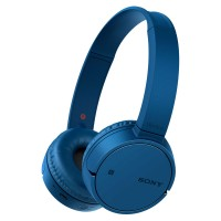 WHCH500L Bluetooth NFC Wireless On-Ear Headphones with Mic and Remote in Blue