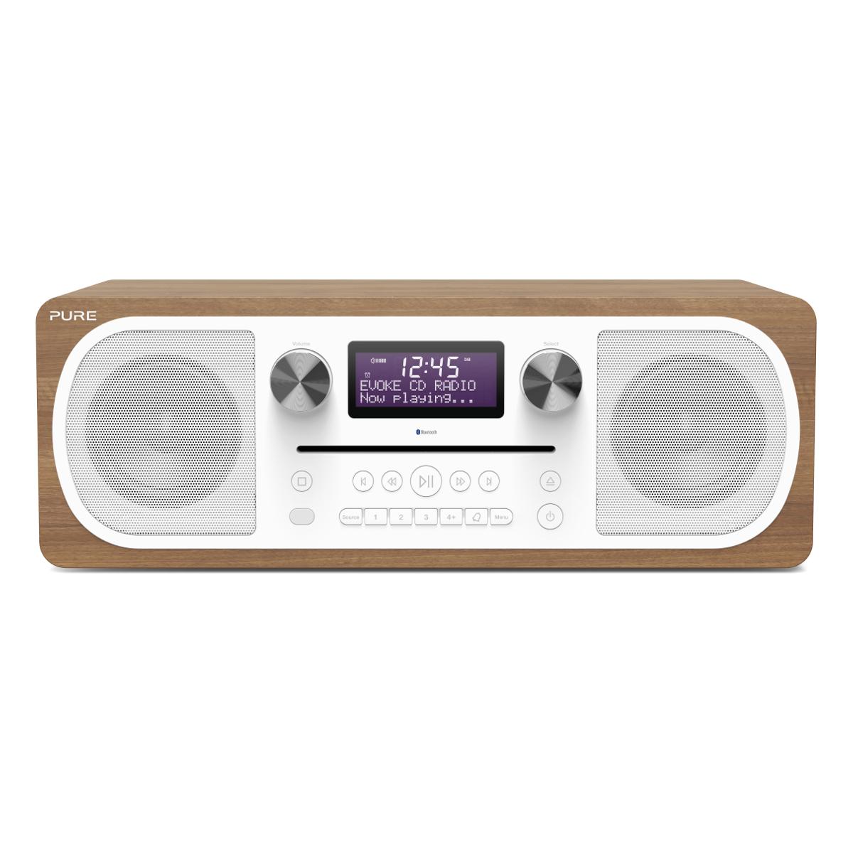 Pure Evoke C D6 Bluetooth Radio With Cd Player Hughes
