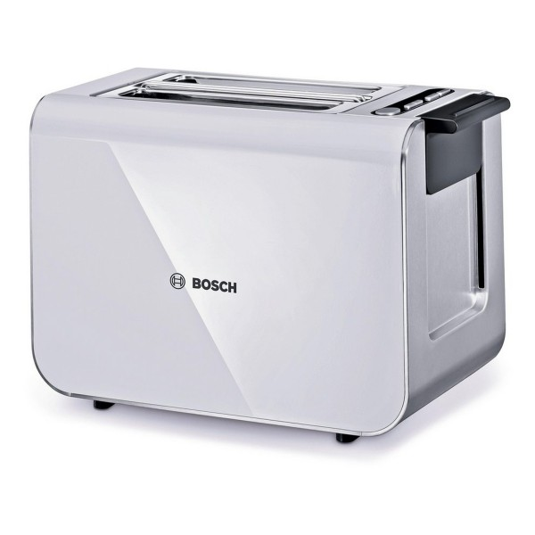 Compare cheap offers & prices of Bosch TAT8611GB 2-Slice Toaster With Defrost And Re-Heat Function In White manufactured by Bosch