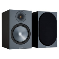 BRONZE 100 Bookshelf Speakers in Black