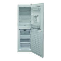 HBNF 55181 W AQUA UK 50/50 Split Frost Free Fridge Freezer with Water Dispenser - White