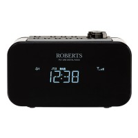 ORTUS2-BK DAB/DAB+/FM Digital Alarm Clock Radio in Black