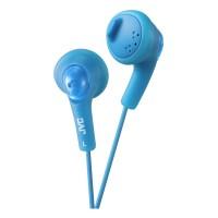 HAF160AE Gumy Bass Boost Stereo Headphones in Blue