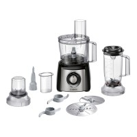 Bosch Compact MCM3501MGB Food Processor in Stainless Steel