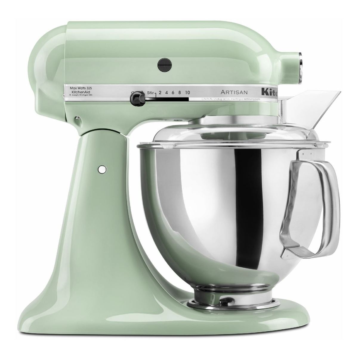kitchenaid 150. kitchenaid kms150psbpt-z factory refurbished classic stand mixer with 4.3l capacity in pistachio   hughes 150 d