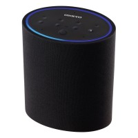VCPX30 Smart Speaker with Built-In Microphone for Amazon Alexa and WiFi in Black